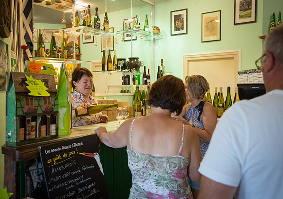 Dégustation vins d'Alsace
